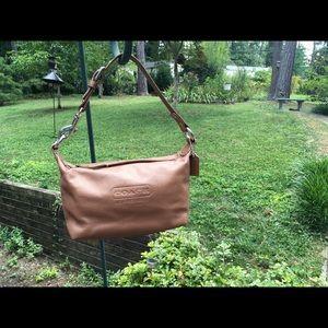 Coach glitter leather purse